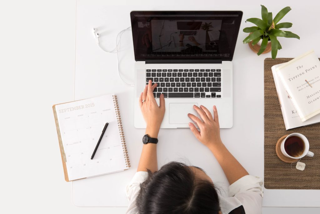 Dedicated Workstation | Desk | 8 Confirmed Ways To Increase Productivity Working From Home | The Loaded Pig