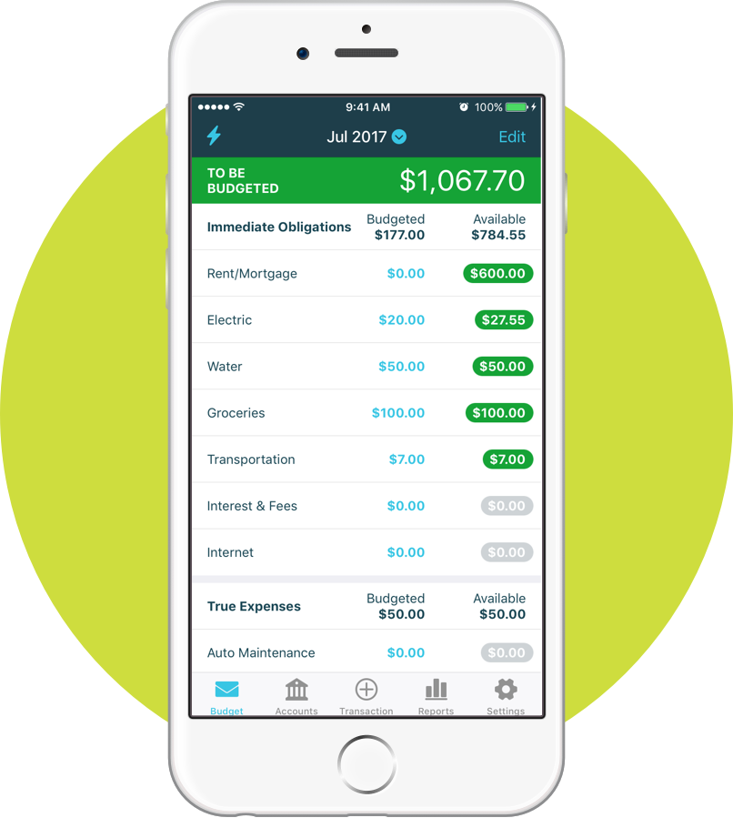 YNAB | Top 5 Budgeting Apps To Help You Manage Your Money | The Loaded Pig